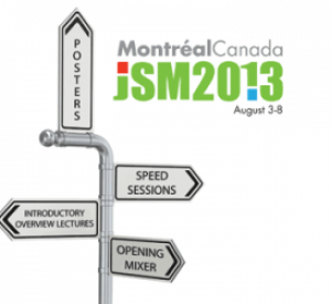 New Initiatives and Highlights of JSM 2013