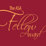 The ASA Fellow Award 2015 Update