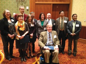 ASA members who recently became AAAS Fellows include (from left): Katherine Ensor, Arlene Ash, Marc Genton, Karen Kafadar, Allan Sampson, Haikady Nagaraja, Nell Sedransk, Ron Wasserstein, Weng Kee Wong, and Nitis Mukhopadhyay.