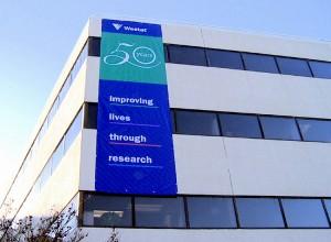 Banner on Westat building