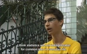 Freeze-frame of the Best Non-English Language Video by the Hungarian Central Statistical Office