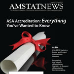 August Amstat News