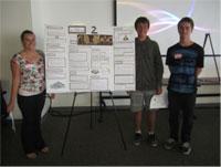 Marelle Arndt, Alex Drabkin, and Andrew Stefaniak (San Clemente HS)