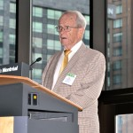 J. Stuart Hunter, Princeton Univ., addresses the Late-Breaking Session: A Tribute to George Box