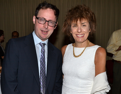 Nate Silver and Marie Davidian at JSM