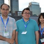 JMP reception: Matthew Pratola, Ryan Lekivetz, and Joslin Goh