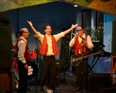 The Polkaholics performed Thursday evening at Phyllis' Musical Inn in the Wicker Park neighborhood.