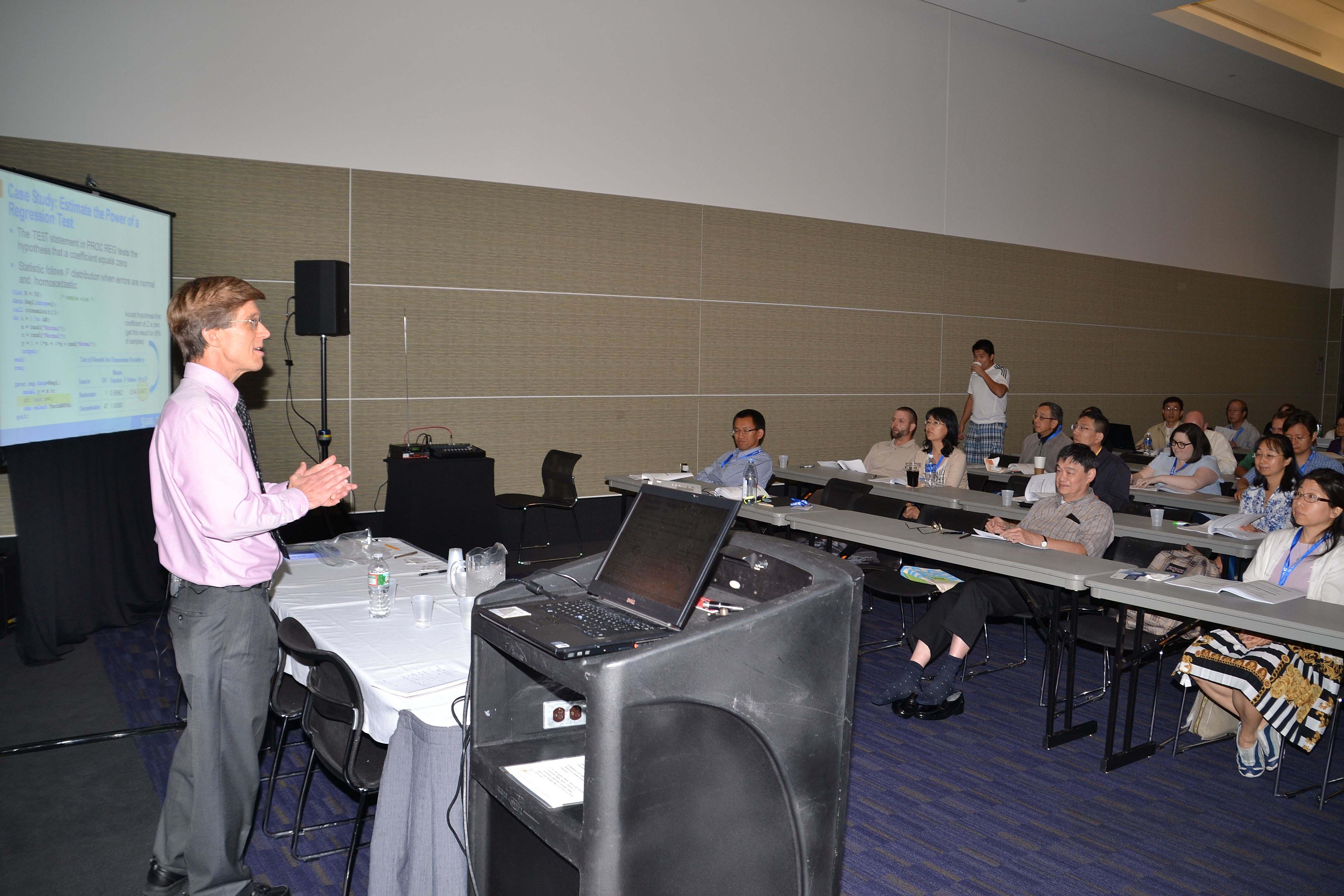 Rick Wicklin teaches Continuing Ed: Techniques for Simulating Data in SAS