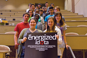 Emory College had 11 teams totaling 28 students participate in its first DataFest.