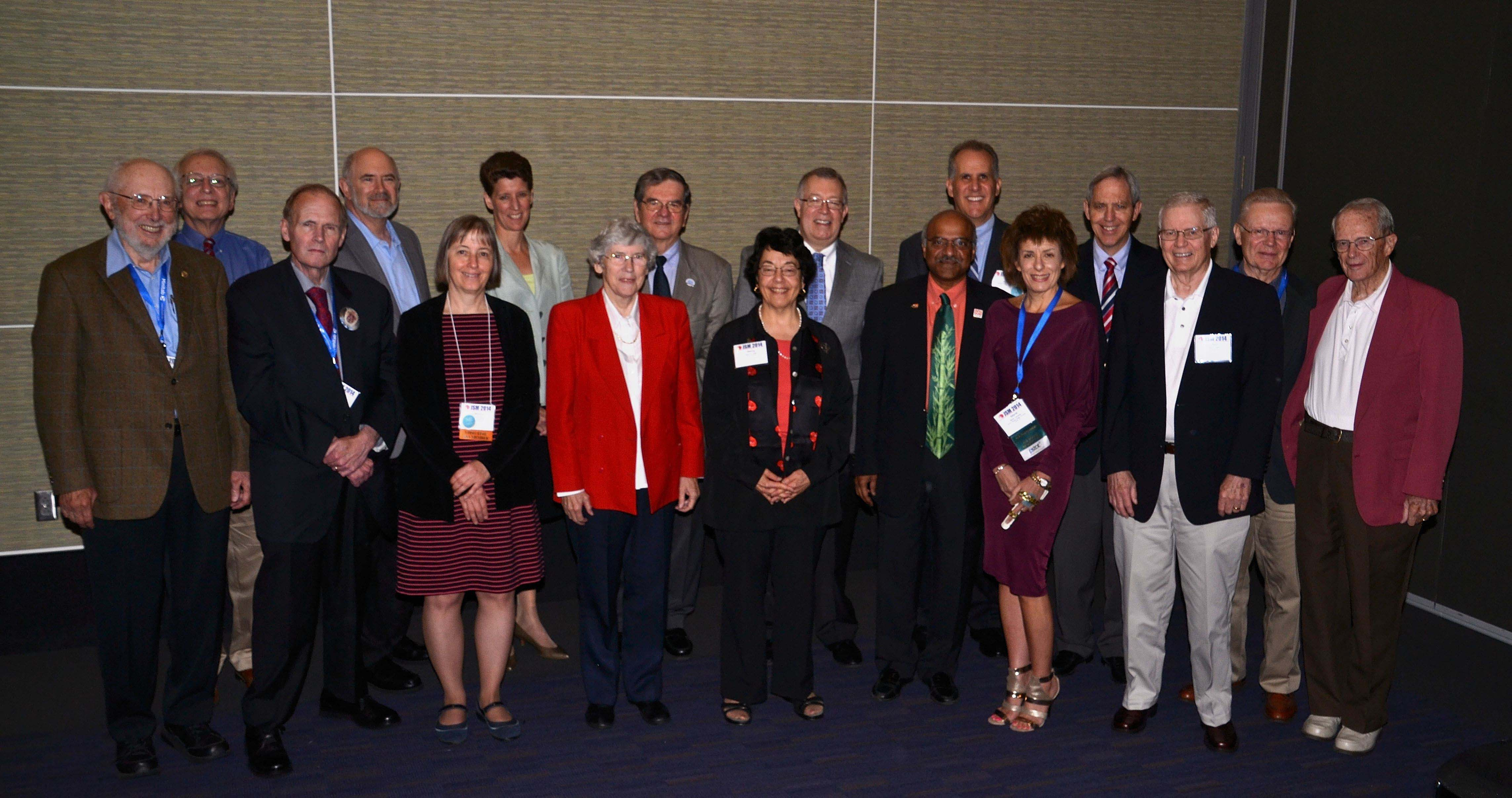 ASA past presidents and executive directors get together during a roundtable to reminisce