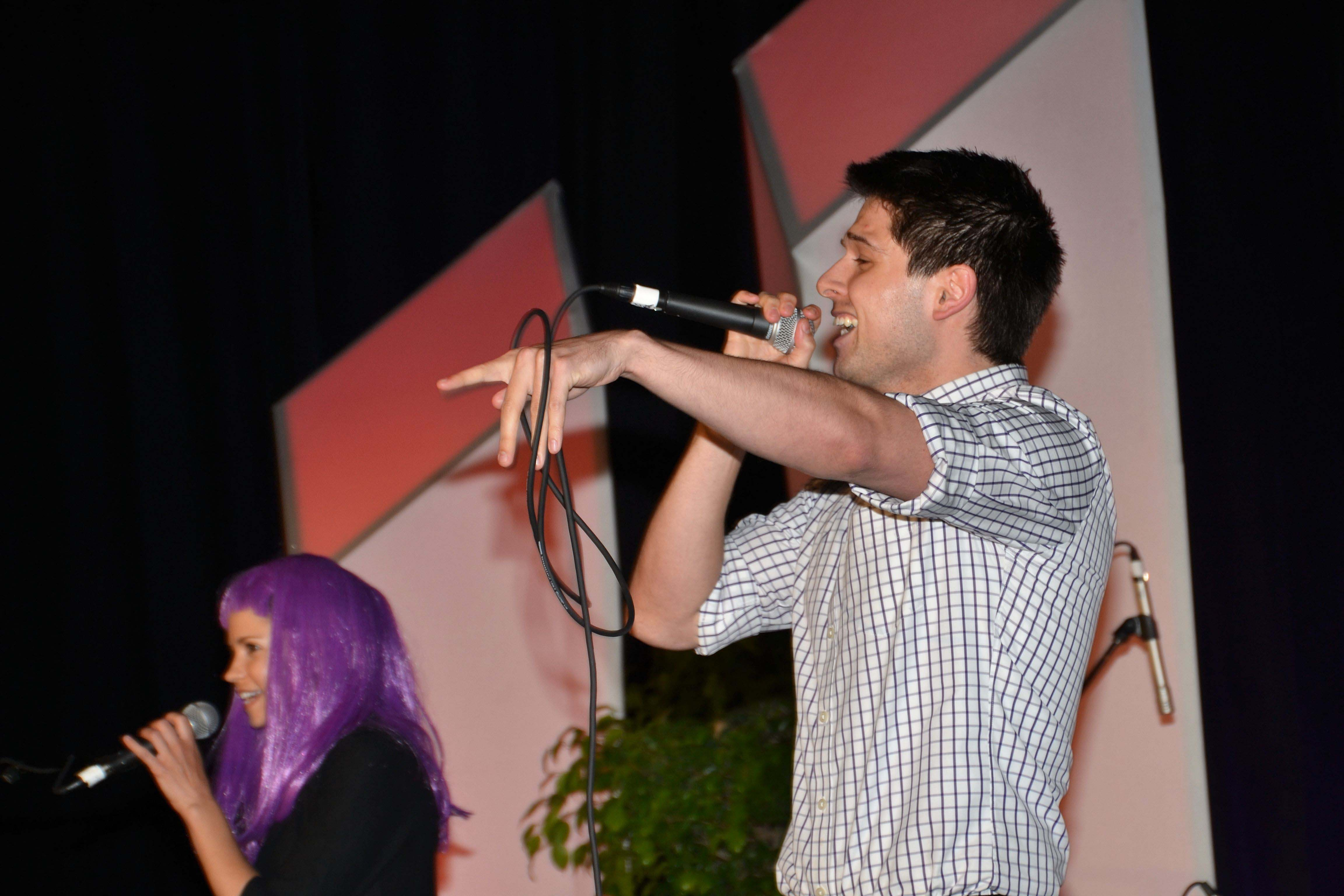 The Fifth Moment performs in the ASA's Got Talent competition