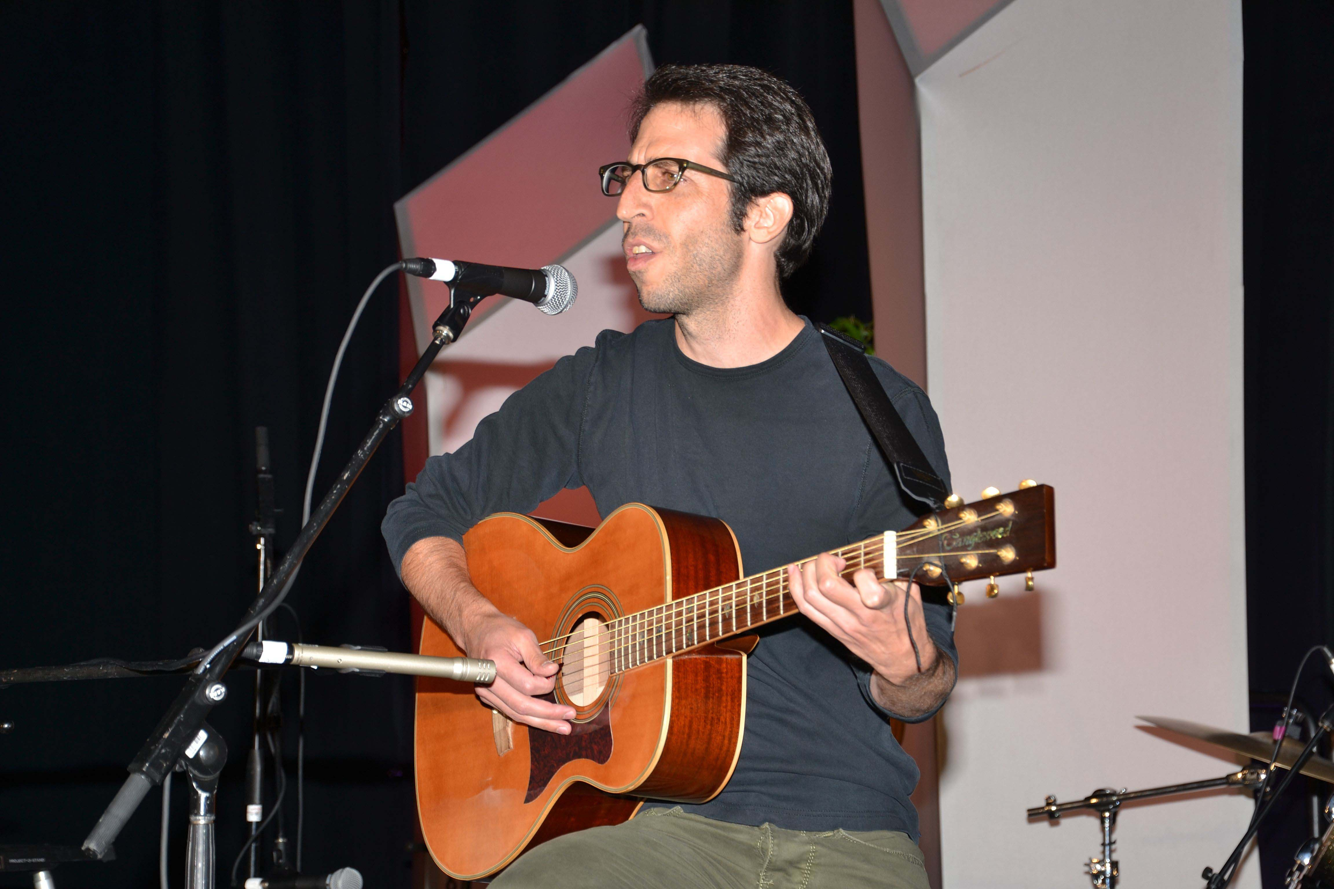 Avner Haley of Almost Shirley performs in the ASA's Got Talent competition