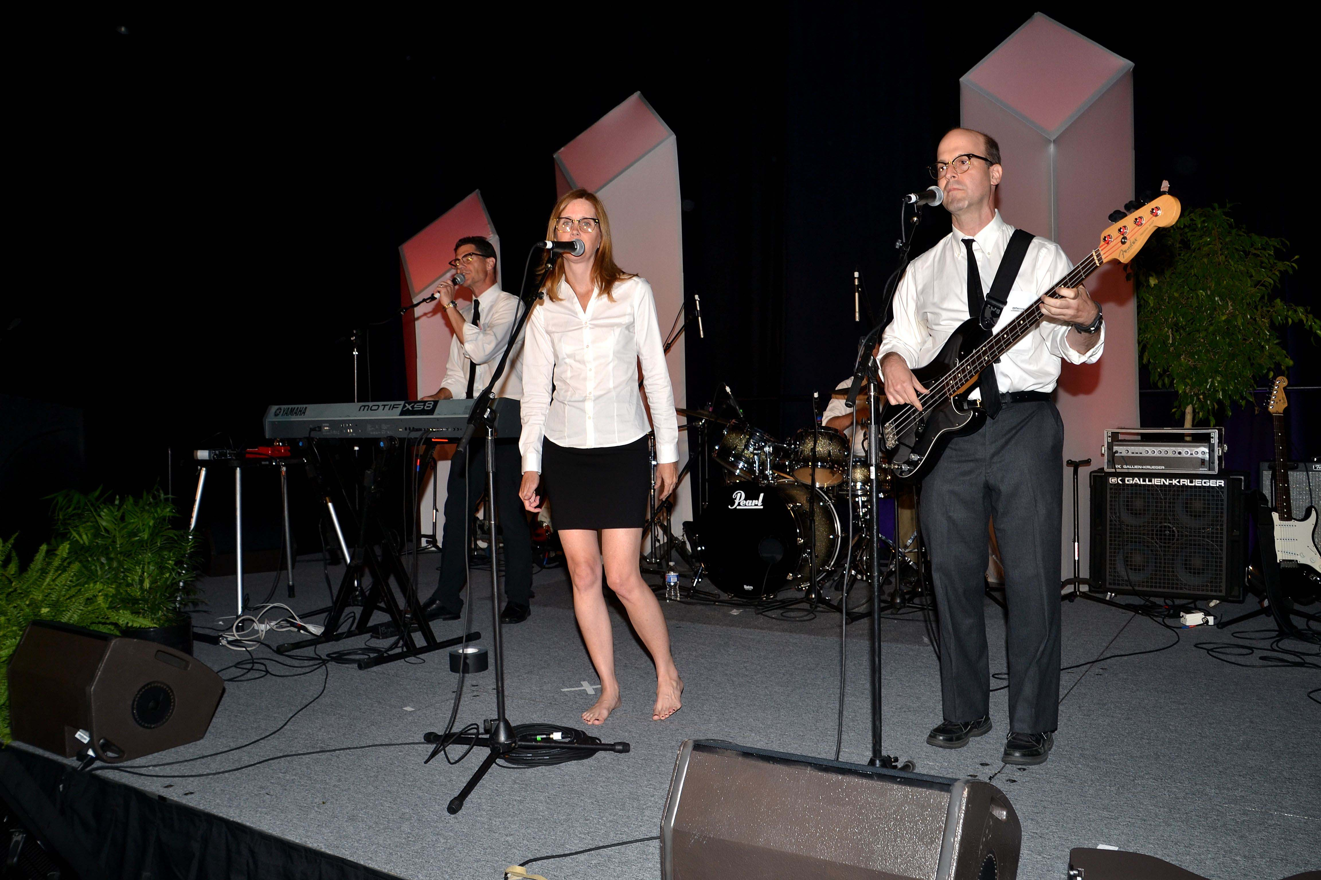 The Imposteriors (from left): Brad Carlin, Jennifer Hill, and Mark Glickman