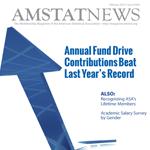 February Amstat News 2014