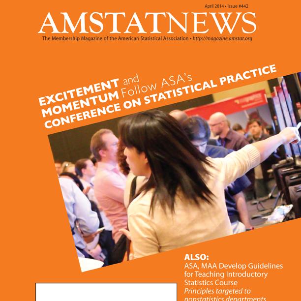 April Amstat News 2014