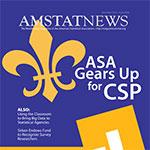 November Amstat News 2014