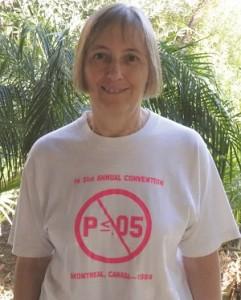 The Parapsychological Association gave ASA President Jessica Utts a T-shirt in 1988 to support her criticism of p-values.