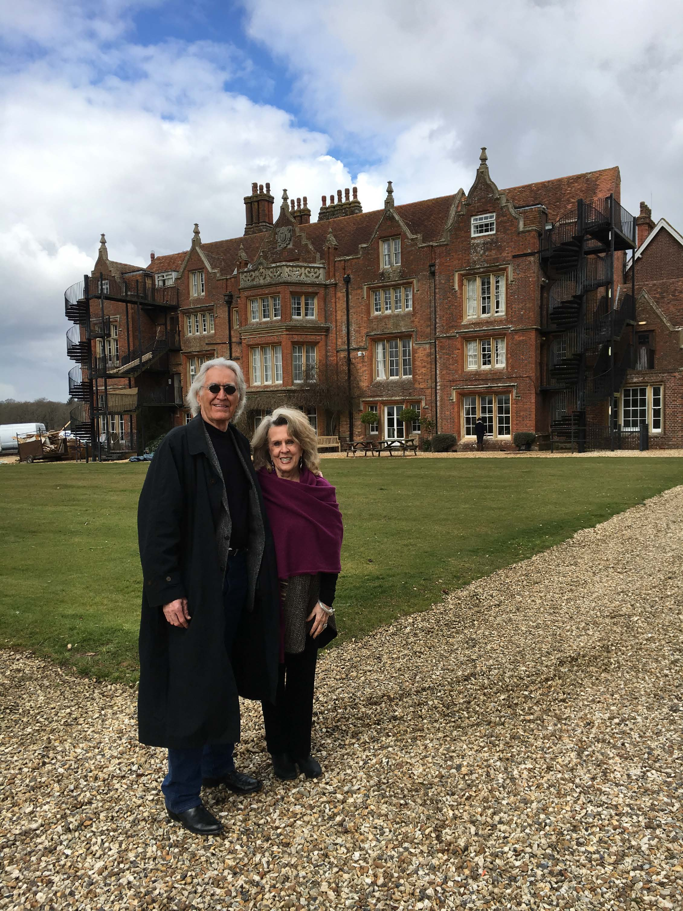 florence nightingale modern day lessons and legacies amstat news larry and barbara dossey at embley park the family home of florence nightingale near