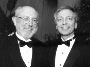 Mike O'Fallon, left, with Jonas Ellenberg