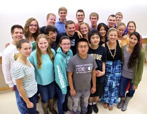 The Statistics Living Learning Community class of 2014 from Purdue University