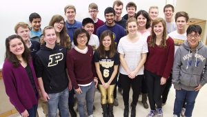 The Statistics Living Learning Community (STAT-LLC) class of 2015 from Purdue University