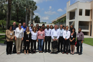 Participants of the regional eCOTS meeting at Florida Atlantic University