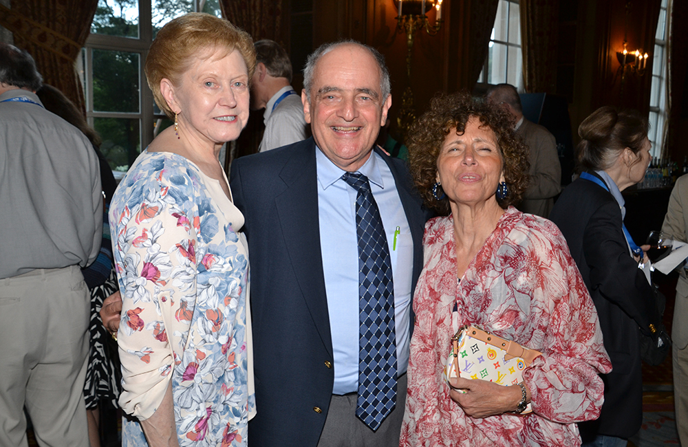 Long Time members Nancy Gordon, Barry Nussbaum, and Judy Schwartz