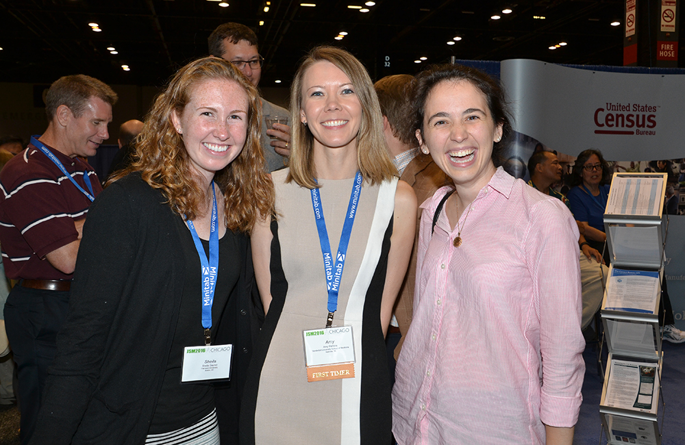 Opening Mixer: Sheila Gaynor, Amy Perkins, and Lucy D'Agostino