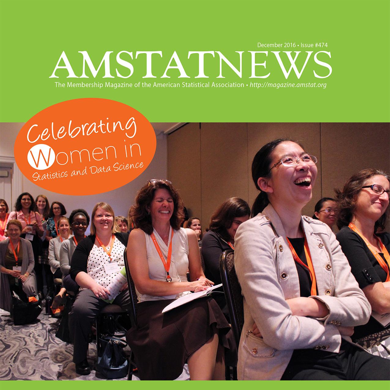December Amstat News 2016