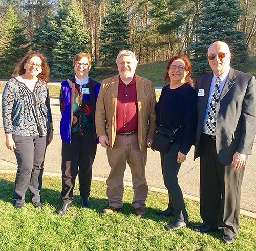 From left: ASA Judges Karry Roberts, Mary Ann Ritter, David Corliss, Anamaria Kazanis, and Lance Heilbrun