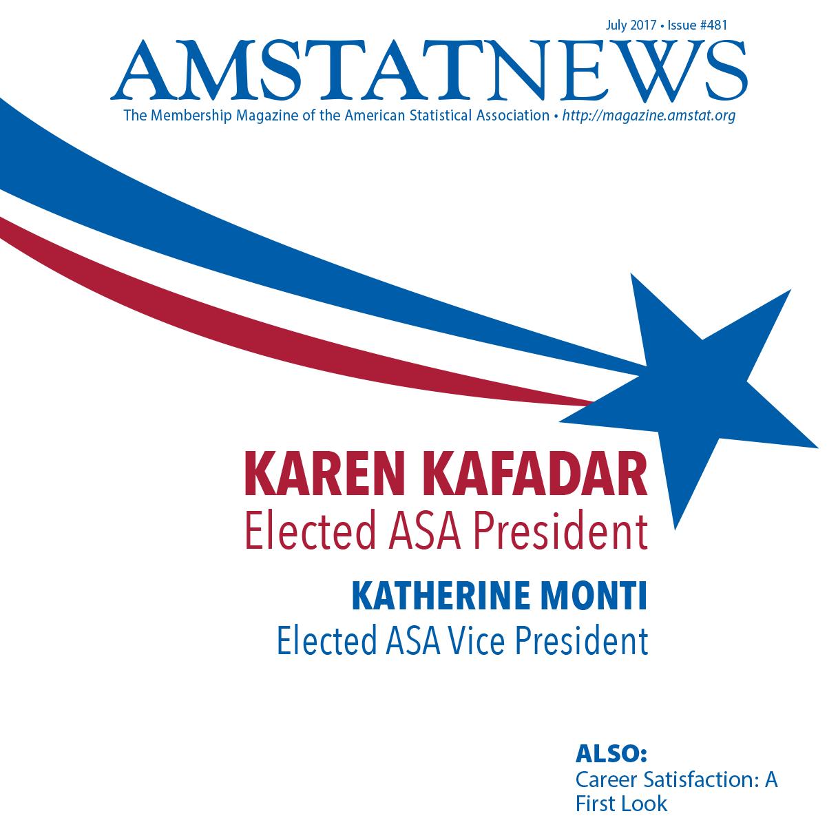 July Amstat News 2017