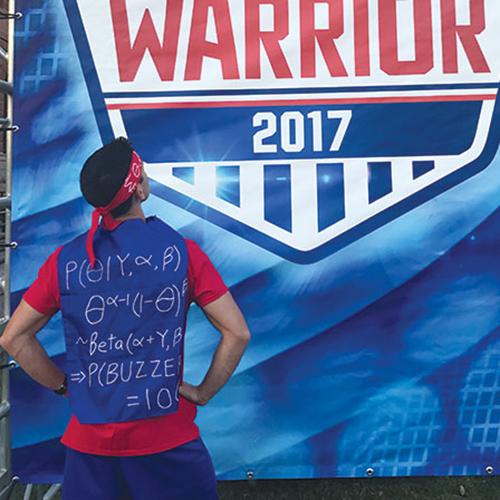 Sons Inspire 'Stats Ninja' Run at 'American Ninja Warrior