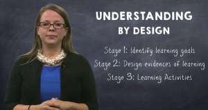 Kate Allman discusses the understanding by design pedagogy framework.