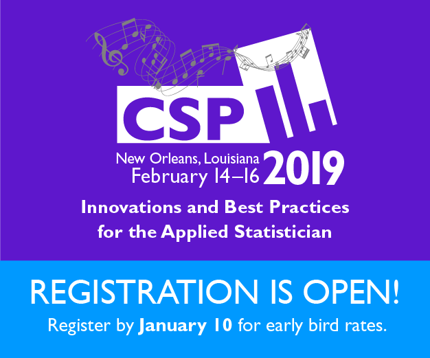 CSP 2019 Registration is Open